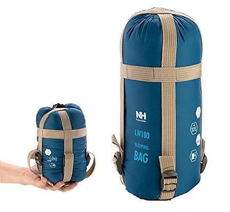JZK® ultra ligero, cálido saco de dormir saco de dormir de algodón pequeña,