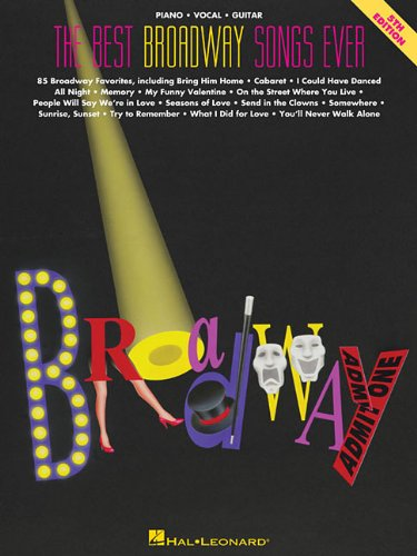 Pdf Arts The Best Broadway Songs Ever (The Best Ever Series)