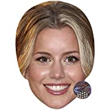Caggie Dunlop Celebrity Mask, Card Face and Fancy Dress Mask