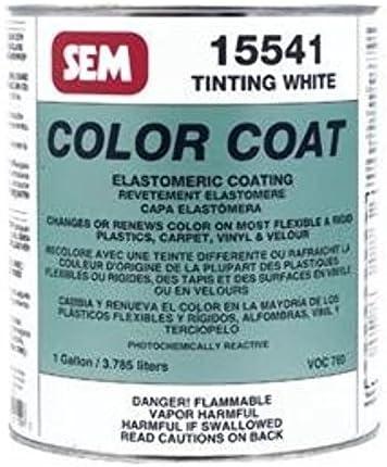 SEM Products Color Coat Tinte Blanco galón: Amazon.es: Coche ...