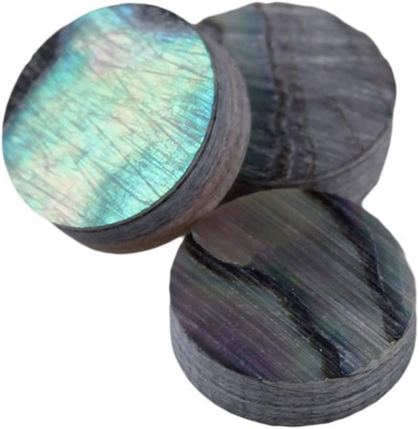 12 PAUA  NEW ZEALAND ABALONE  Luthier Dots  Inlay Fret  Side Marker All Sizes