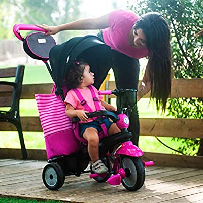 smarTrike Swing DLX Baby Tricycle, Pink: Toys & Games