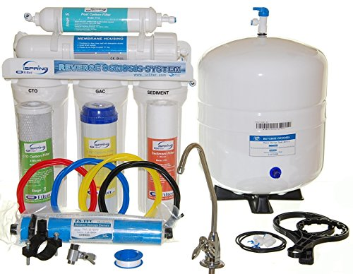 iSpring RCW5 - Legendary 50GPD 5-Stage Under-Counter Reverse Osmosis RO Water Filter with Quick Fitting