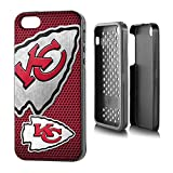 """NFL Kansas City Chiefs Rugged Series Phone Case iPhone 5/5s, 5.75 x 2.75"""", Red"""