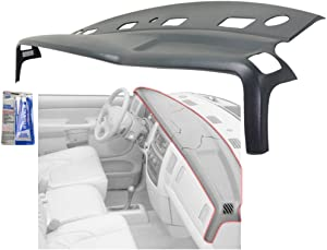 Dash Cover compatible with Dodge Full Size P/U 02-05 Presidio Gray