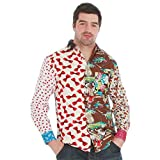 Morph Foul Fashion Mens Ugly Shirt - Every Shirt is different! - Size Large 16.5 inch collar