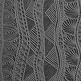 Cool Tools - Flexible Mega Tile - Borders & Silhouettes - 9.25'' X 6''