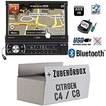 JUST SOUND best choice for caraudio SD 7 TFT Autoradio Radio Caliber RMD574BT Einbauset f/ür Audi A4 B5 Einbauzubeh/ör Bluetooth USB MP3
