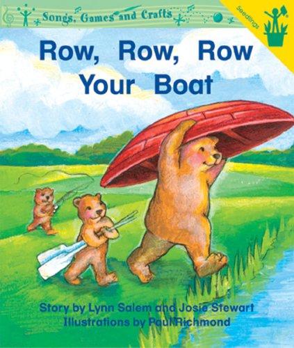 Early Reader: Row, Row, Row Your Boat pdf epub
