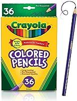 Crayola Colored Pencils Set, School Supplies, Presharpened, 36 Count