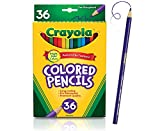 Toys : Crayola Colored Pencils Set, School Supplies, Presharpened, 36 Count