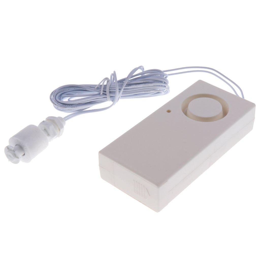Homyl Detector Sensor de Nivel Agua Desbordamiento Accesorios de Seguridad 2-en-1