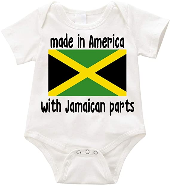 CHETI Venezuela Flag Newborn Infant Toddler Baby Girls Boys Bodysuit Short Sleeve 0-24 MonthsBlack