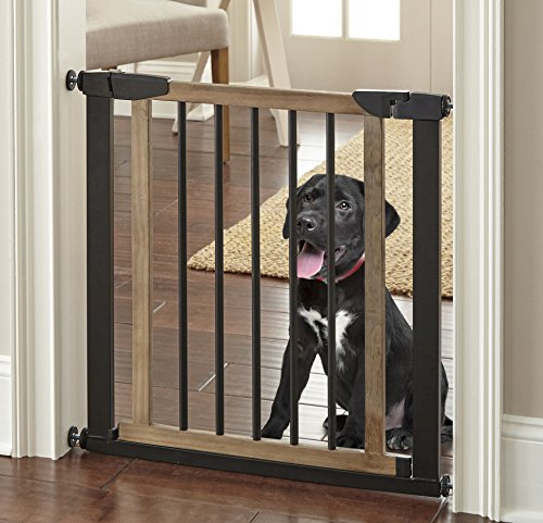 Logan Dog Gate - Indoor Pet Barrier, Expandable to 40