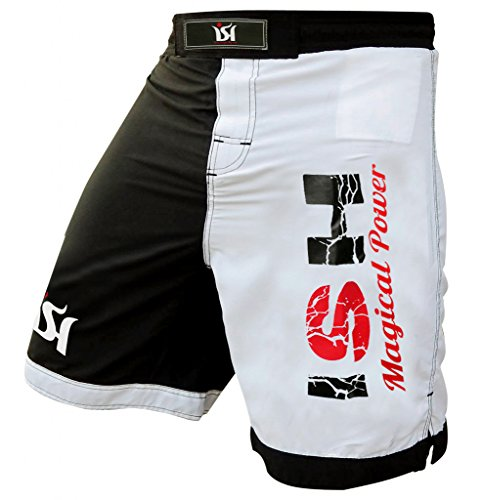 ISH Sports MMA Kick Boxing Fight Shorts UFC Grappling Short Cage Muay Thai Mens Wear Shorts Kickboxing Short Pro