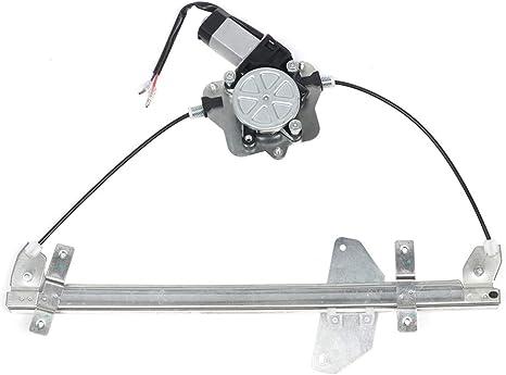 New Front Left Driver Door Side Power Window Regulator With Motor Mazda Protege