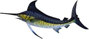 Marlin Replica Nautical Saltwater Fishing Wall Decor