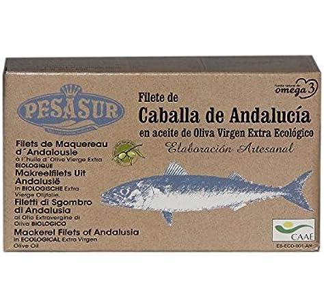 Caballa de Andalucía PESASUR en Aceite de Oliva Virgen Extra ...