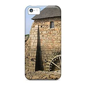 Excellent Iphone 5c Case Tpu Cover Back Skin Protector Moulin