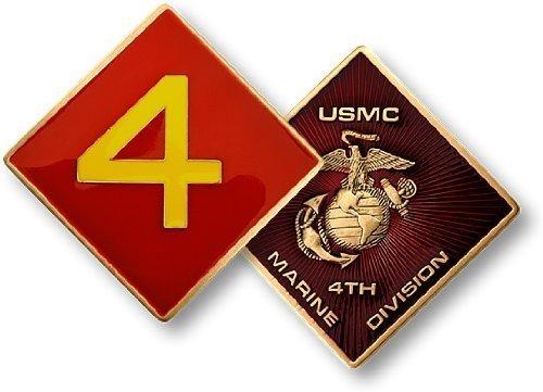 4th Marine - Marine Challenge Coin Set