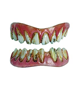 Horror-Shop Carillas dentales Zombie FX Dientes: Amazon.es ...