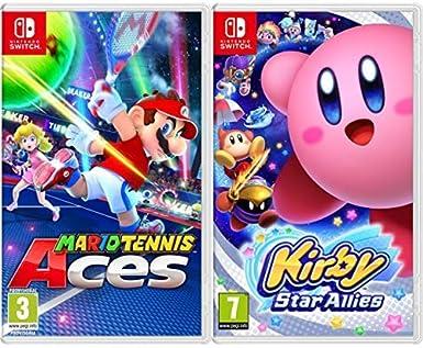 Mario Tennis Aces & Kirby Star Allies: Amazon.es: Videojuegos