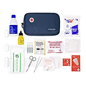 Botiquín Sans, Botiquín de primeros auxilios, Nylon, Azul 5