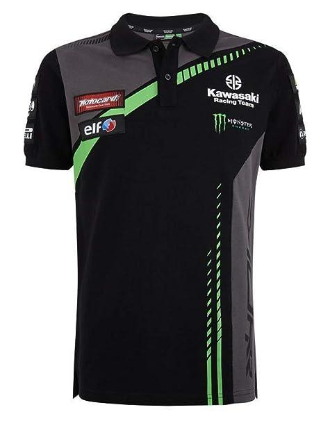 Turnschuhe für billige Großhandelsverkauf Shop für neueste Kawasaki KRT SBK Replica Polo Shirt (M): Amazon.de: Bekleidung