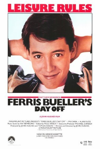 Ferris Bueller's Day Off POSTER Movie (27 x 40 Inches - 69cm x 102cm) (1986) (Style C) ()