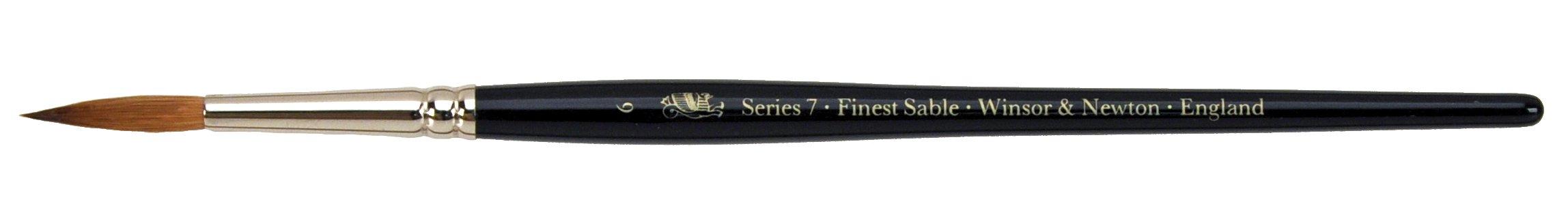 Winsor & Newton Series 7 Kolinsky Sable Watercolor Brush - Round #6