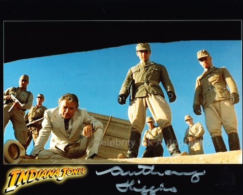 ANTHONY HIGGINS as Gobler - Indiana Jones: Raiders Of The Lost Ark from Celebrity Ink