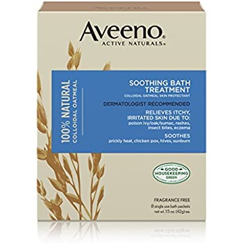 Amazon Com Aveeno Soothing Bath Treatment For Itchy