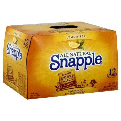 UPC 076183003749, Snapple Tea, 12- 16 Fl Oz (Pack of 2) (Lemon)