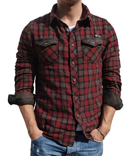 ZBED Brandit Duncan Shirt Red-Brown L
