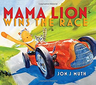 Book Cover: Mama Lion Wins the Race