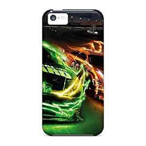 New Casekiss Super Strong Monster Cars Tpu Case Cover For Iphone 5c
