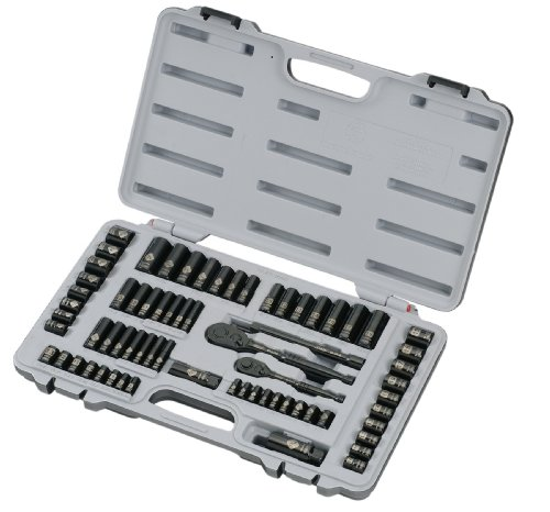 076174928242 - Stanley 92-824 Black Chrome and Laser Etched 69-Piece Socket Set carousel main 1