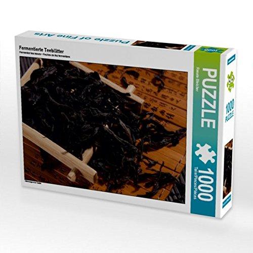Fermentierte Teeblätter 1000 Teile Puzzle Quer