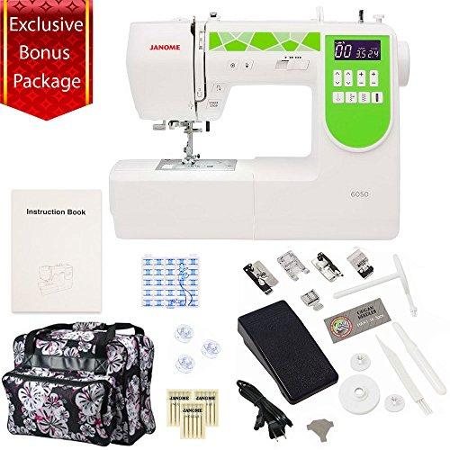 janome sewing machine green - 4