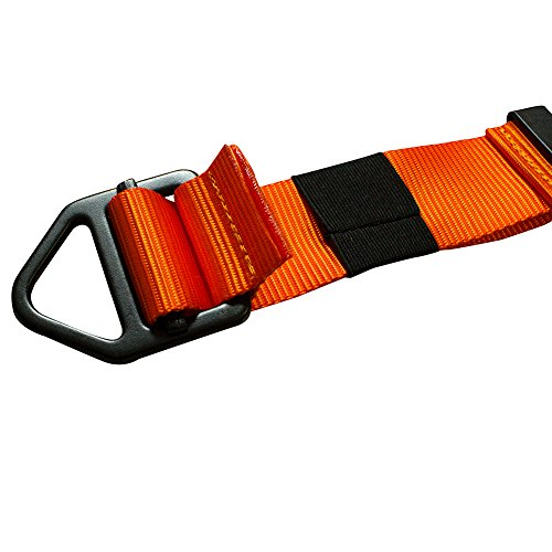 Fusion Adjustable Lanyard with D-Ring, Orange by Fusion (Image #4)