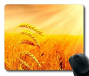 Awesome Wheat Field Masterpiece Limited Design Oblong Mouse Pad by Cases & Mousepads