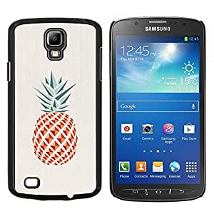 "Be-Star Único Patrón Plástico Duro Fundas Cover Cubre Hard Case Cover Para Samsung i9295 Galaxy S4 Active / i537 (NOT S4) ( Piña Polígono minimalista Weed"" )"