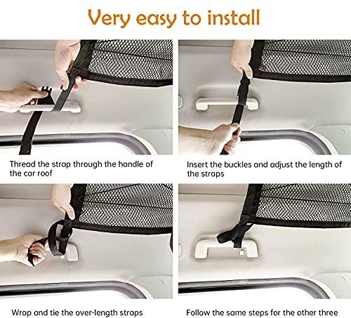Car Ceiling Storage Net Pocket, 31