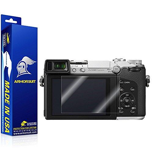 ArmorSuit Panasonic Lumix DMC-GX7 Camera Screen Protector Full Coverage MilitaryShield Screen Protector for Panasonic Lumix DMC-GX7 - HD Clear Anti-Bubble Film
