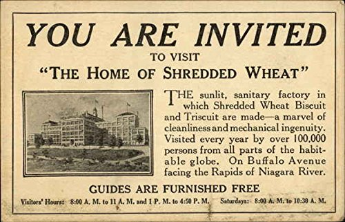 vintage-advertising-postcard-invitation-to-visit-the-shredded-wheat-biscuit-and-triscuit-factory