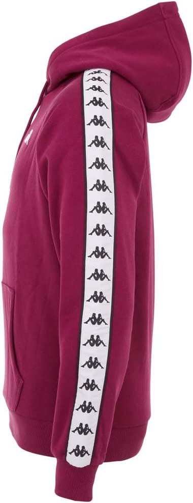 Kappa Men's Authentic Finnus Hooded sweatshirt Purple Potion