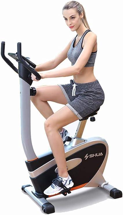 Máquinas de Step Bicicleta estática Bicicleta de Ejercicios Bicicleta giratoria Ultra silenciosa Control magnético Interior Bicicleta de Ejercicios para el hogar Paso a Paso de la Aptitud: Amazon.es: Hogar