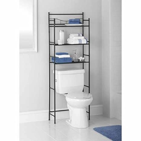 Amazing Mainstays 3 Shelf Bathroom Space Saver Oil Rubbed Bronze Oil Rubbed Bronze Home Interior And Landscaping Staixmapetitesourisinfo