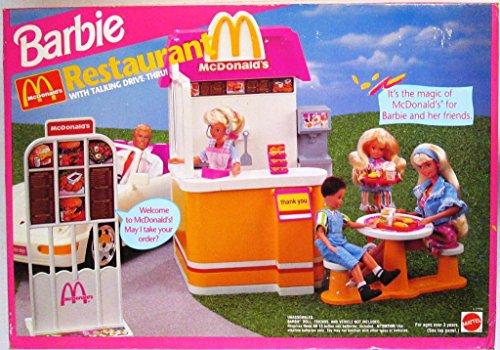 Barbie McDonald's Restaurant With Talking Drive Thru Playset (1994)