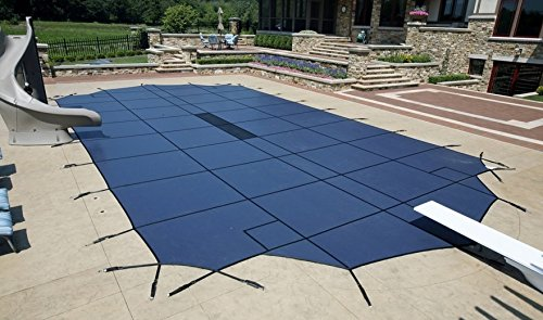 Arctic Armor WS2025B 14'x28' 15 Year Ultra Light Safety Cover - Blue by ARCTIC